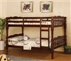 Twin over Twin Wood Bunk Bed