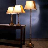 Set Of 3 Traditional Style Lamps