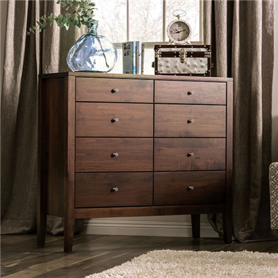 Williamette I Solid Wood 8-Drawer Chest
