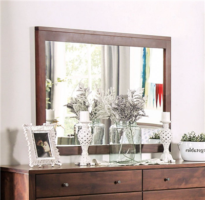 Williamette I Solid Wood Dresser Mirror