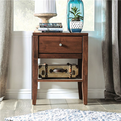 Williamette I Solid Wood Nightstand
