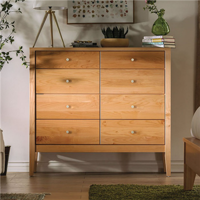 Williamette II Solid Wood 8-Drawer Chest