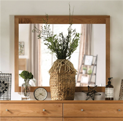 Williamette II Solid Wood Dresser Mirror
