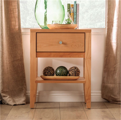 Williamette II Solid Wood Nightstand