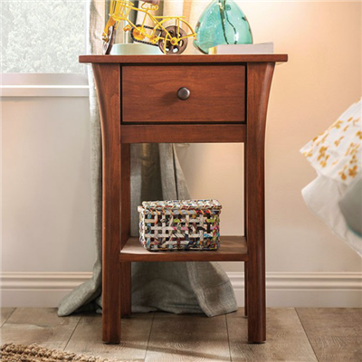 Keizer Solid Wood Nightstand