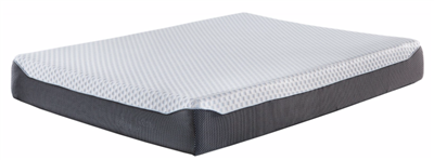 "Sierra Sleep M673 Chime 10"" Plush King Memory Foam Mattress"