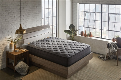 "12"" Premium Graphite Infused Plush Hybrid Mattress - N10512NR"