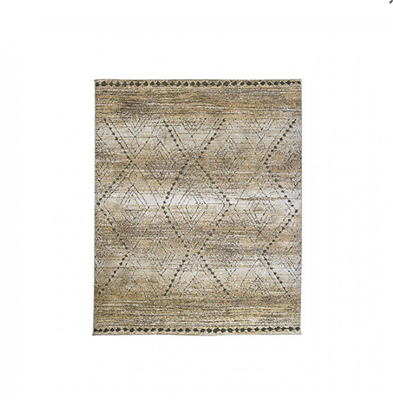 Millsboro Collection Green Friendly Low Shag Rug