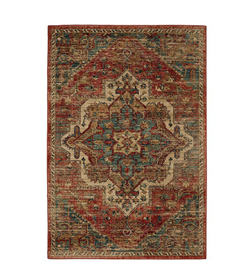Wilhelm 8' X 11' Area Rug in Spice Rose