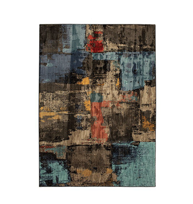 Wilhelm 8' X 11' Area Rug in Abstract Multi
