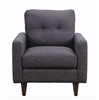 Watson Collection Retro Style Gray Chair
