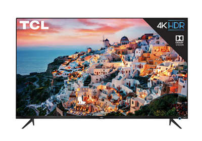 "55"" TCL Flatscreen LED TV with Roku"