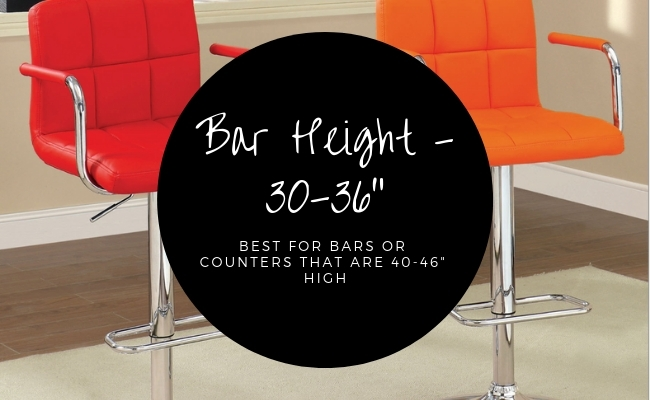 Bar Height Chairs/Adjustable Chairs