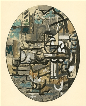 Georges Braque 1929 pochoir