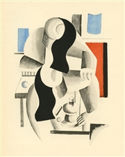 Fernand Leger 1929 pochoir edition of 1000