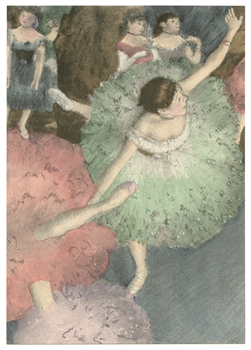 Edgar Degas pochoir Danseuse