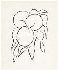 "Henri Matisse original lithograph ""Fruits"""