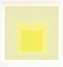 Josef Albers silkscreen Homage to the Square