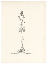 Alberto Giacometti lithograph for Cahiers d'Art