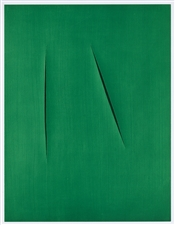 Lucio Fontana color pochoir, 1959