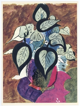 Georges Braque lithograph, 1955