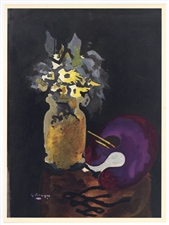 Georges Braque lithograph 1955