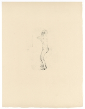 "Pierre Bonnard ""Nu debout"" original lithograph, edition of 20 on japon"