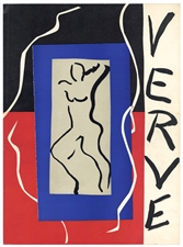 Henri Matisse lithograph for Verve 1937
