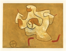 "Paul Klee pochoir ""Fame"""