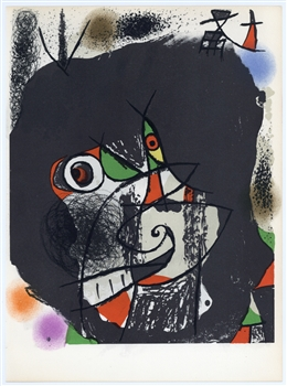 "Joan Miro ""Revolutions I"" original lithograph"
