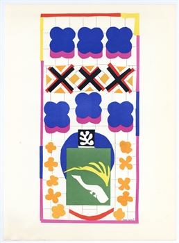 "Henri Matisse lithograph ""Poissons Chinois"""