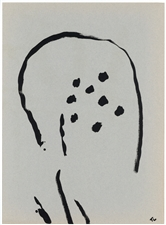 Pierre Tal-Coat lithograph on laid paper, 1962
