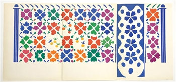 "Henri Matisse lithograph ""Fruits"""