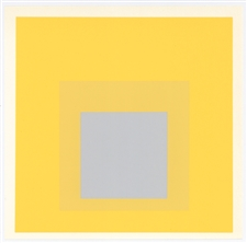 "Josef Albers silkscreen ""Homage to the Square"""