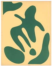 Jean Arp original linocut Constellations 1938 XXe Siecle