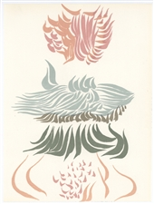 Jacques Herold original lithograph, 1974