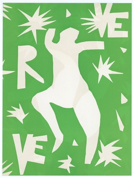 Henri Matisse lithograph for Verve, 1945