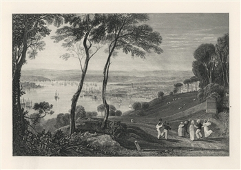 J. M. W. Turner Devonport engraving