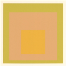 Josef Albers silkscreen Albers Homage to the Square