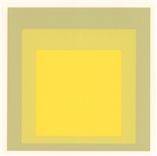 Josef Albers silkscreen, Albers Homage to the Square