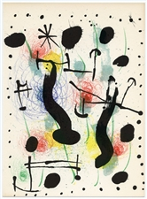 Joan Miro original lithograph (1966)