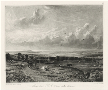 Sir John Constable / David Lucas mezzotint