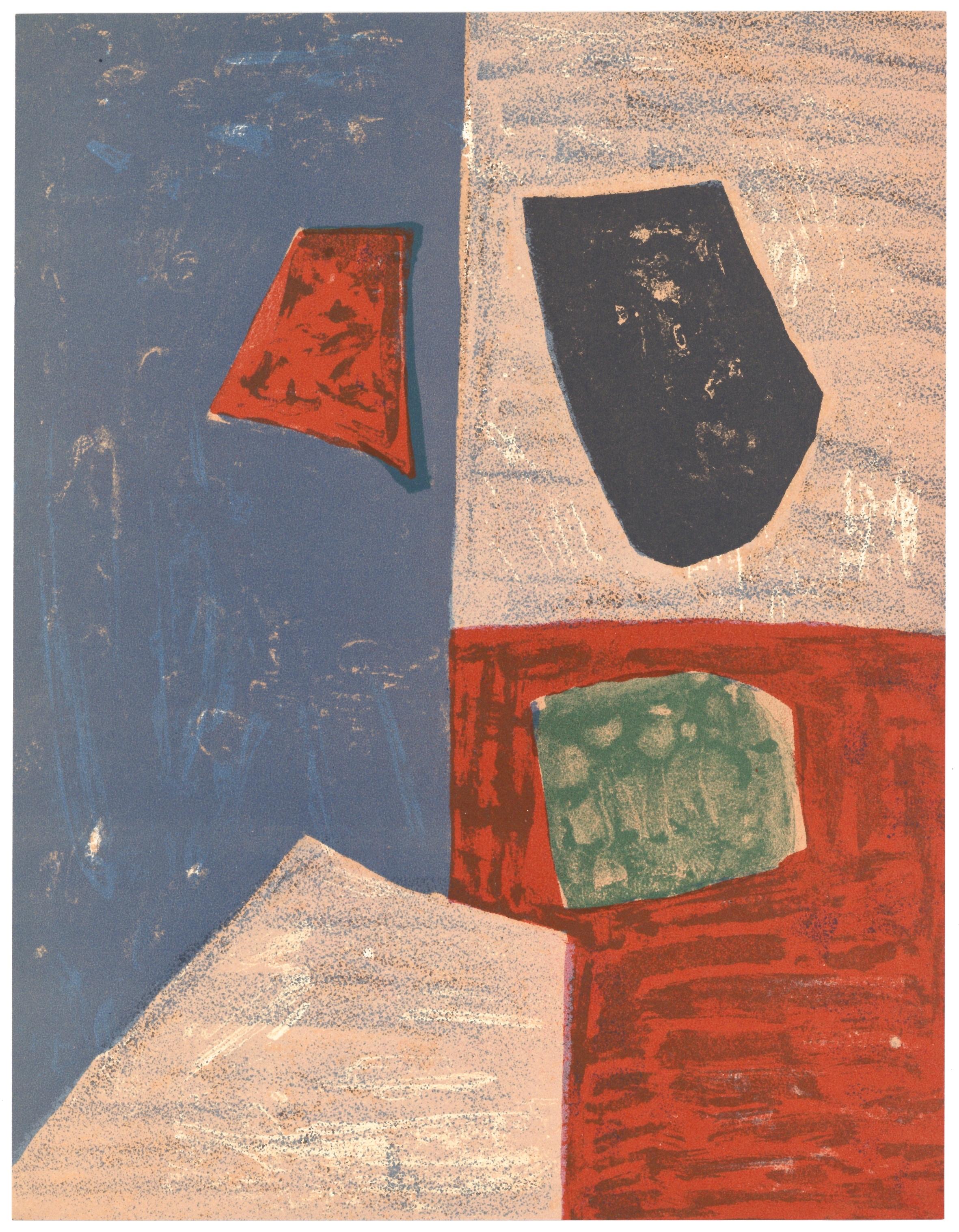 41ea45ba3bd Serge Poliakoff original lithograph