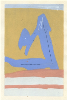 Robert Motherwell pochoir