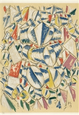 Fernand Leger color pochoir