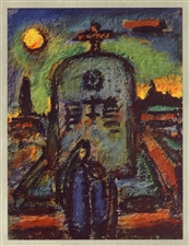 Georges Rouault lithograph for Stella Vespertina