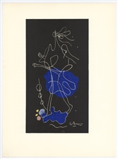 "Georges Braque lithograph ""Ajax"""