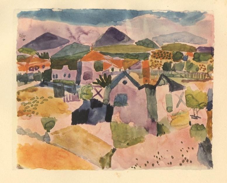 Paul Klee Pochoir Quot Tunisian Landscape Quot