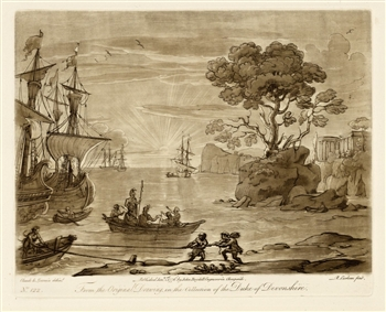 Claude Lorrain / Richard Earlom etching | Liber Veritatis