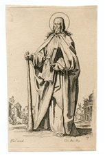 "Jacques Callot ""St James the Lessor"" etching"